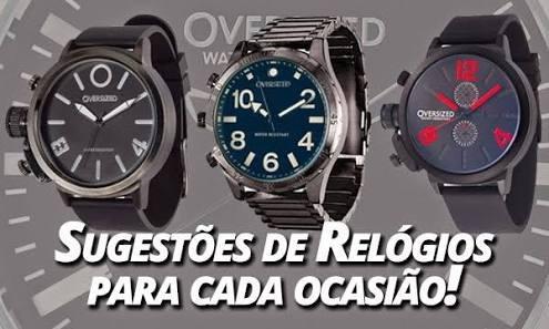 Super Oferta Para Não Perder A Hora Kit Com 3 Relogios Masc
