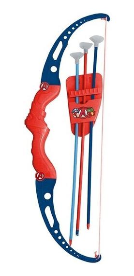 Super Kit Arco Suporte Flecha Crianças Infantil Vingadores