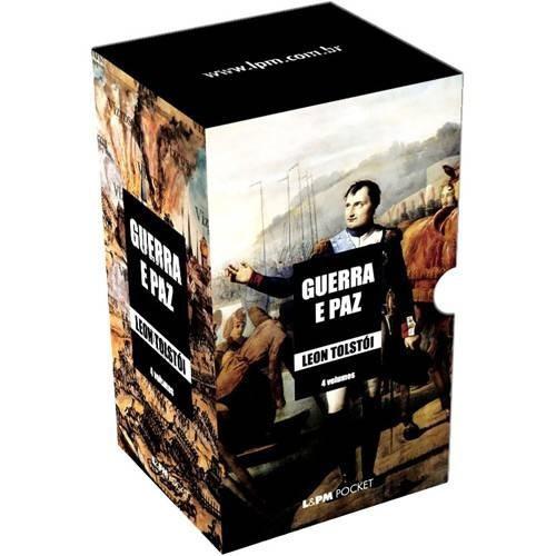Box Guerra E Paz - 4 Livros