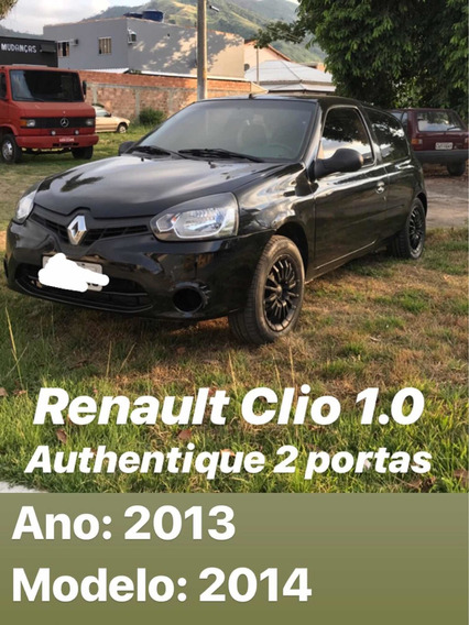 Renault Clio 1.0 16v Authentique Hi-power 3p 2013