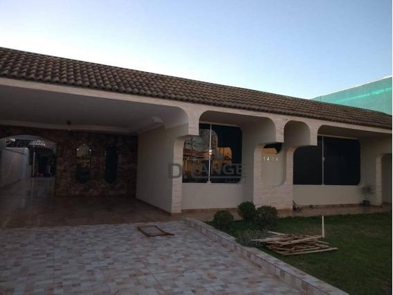 Casa Com 3 Dormitórios Para Alugar, 400 M² Por R$ 6.900/mês - Parque Taquaral - Campinas/sp - Ca12127