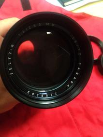 Lente Leitz Leica Canada Mount R 250 F/4. Óptica Impecável.