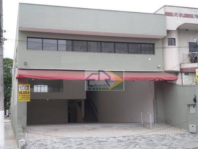 Salão Comercial Para Locação, Centro, Suzano. - Sl0059