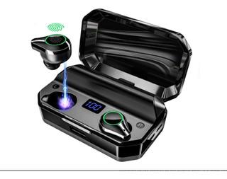 Audífonos Inalámbricos Bluetooth Con Estuche Carga Led