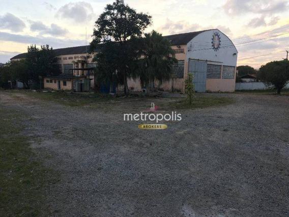 Galpão Para Alugar, 2790 M² Por R$ 55.000/mês - Vila Jordanópolis - São Bernardo Do Campo/sp - Ga0099