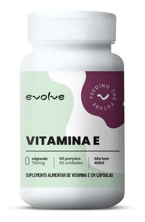 Vitamina E 400ui (60 Caps) - Evolve