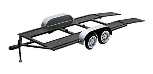 Imagen 1 de 1 de Motormax 76001 Trailer Car Carrier 1:24 Escala Fundido A Tr