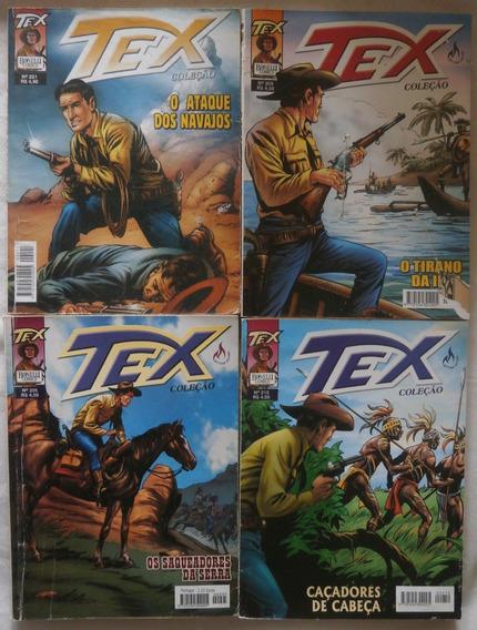 Lote 8 Revistas Gibis Faroeste Tex Coleção
