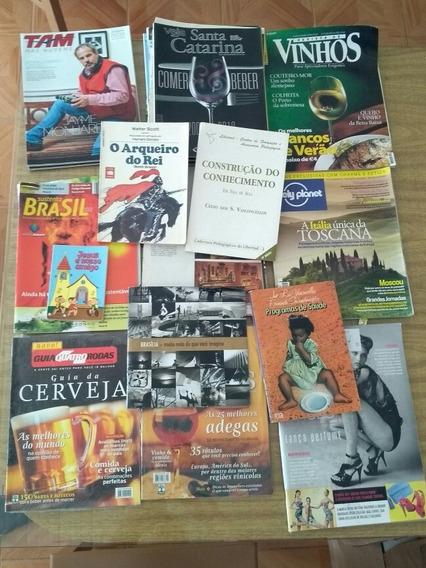 Lote De Revistas E Livros