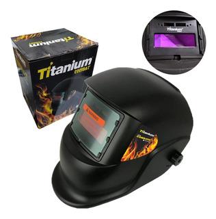 Máscara De Solda Automática Ton. 11 5496 Titanium