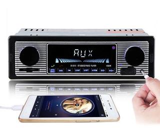 Radio Vintage Retro Usb Bluetooth Carro Antigo Fusca Opala