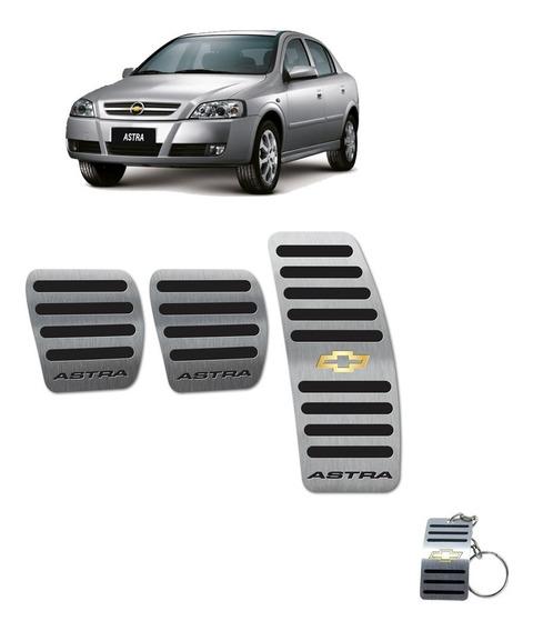 Pedaleiras Manual Astra 4 Portas Em Aço Inox