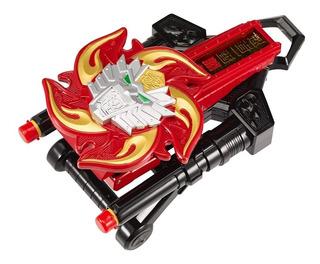 Power Rangers Super Ninja Steel Morpher León Fuego Bandai
