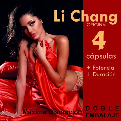 Imagen 1 de 6 de Li Chang Vigor Potencia Vigorizante Disfunción Ereccion Sexo