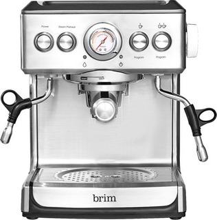 Cafetera De Espresso Brim 19 Barras- Color Plateado