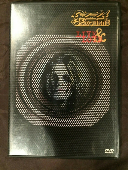 Ozzy Osbourne Live & Loud Dvd Doble Cara Original Importado
