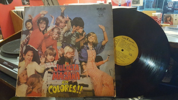 Julieta Magaña En Colores Lp Disco Vinilo Ex
