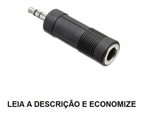 Adaptador J10 ( P10 Femea) Stereo X P2 Stereo