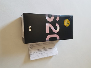 Celular Samsung Galaxy S20 - Na Caixa Com Nf Nunca Usado