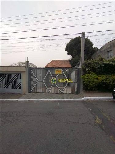 Sobrado Com 2 Dormitórios À Venda, 500 M² Por R$ 530.000,00 - Jardim Nove De Julho - São Paulo/sp - So0305