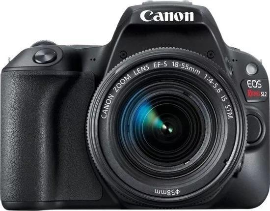 Câmera Canon Sl2 +18-55mm Is Stm +32gb Sdhc R$1000 Á Vista