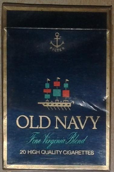 Antigua Caja De 20 Cigarrillos Old Navi
