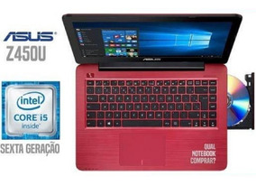 Notebook Asus Core I5-6200u 8gb Ssd 120 Tela 14