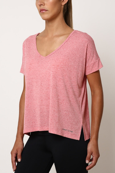 Remera Admit-one M/c Entrenamiento Jer Modern Rosa Mujer