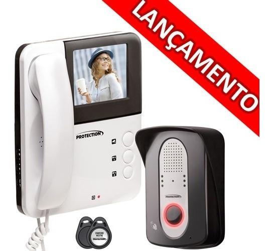 Video Porteiro Rfid Para 3 Cameras Adicionais - Protection
