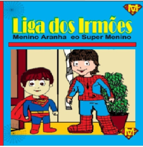 Revista Em Quadrinho Liga Dois Irmões