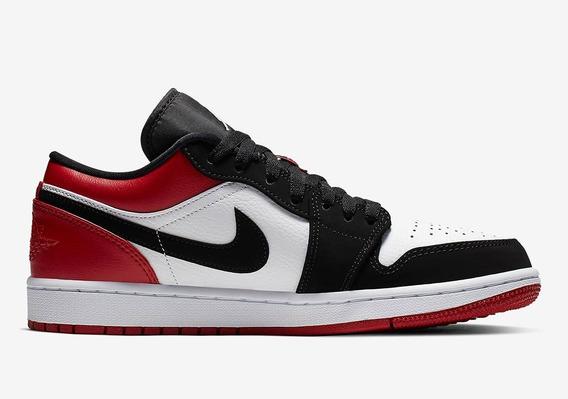 Air Jordan 1 Low Black Toe Talle 9us/9.5us Liquido 30% Off