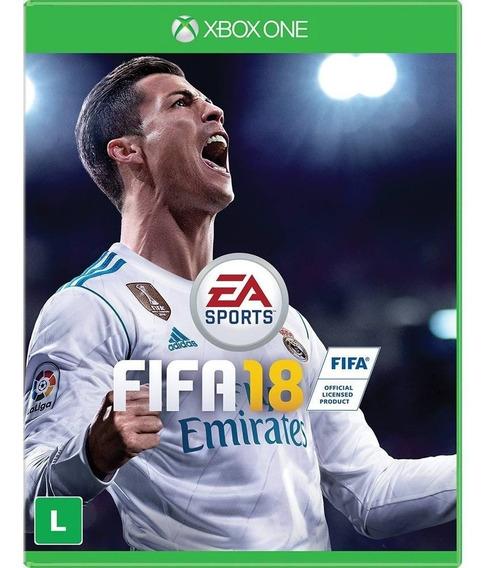 Jogo Fifa 18 Xbox One Novo, Lacrado, Mídia Física