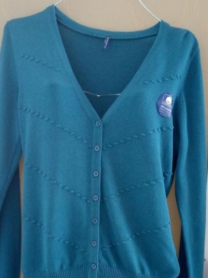Sweater Azul Casual Oferta Sueter Abrigo Invierno
