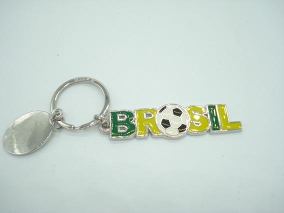Chaveiro Brasil Tema Copa 2018