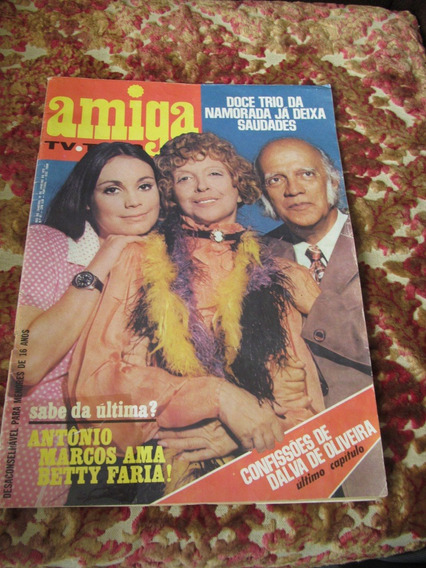Amiga 1972 Fotonovela Sergio Murilo Antonio Marcos Golias