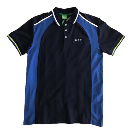 Camisa Polo Hugo Boss Gola Polo Geométrico Gg