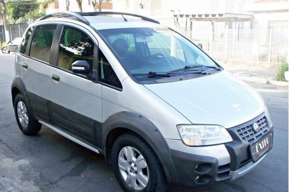 Fiat Idea Adventure 1.8 Flex Manual 2007 Prata
