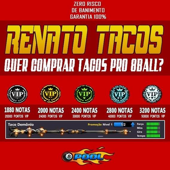 Taco Demon + Notas 8 Ball Pool