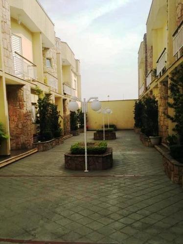 Imagem 1 de 21 de Sobrado Em Condomínio Na Vila Formosa Com 3 Suítes, 4 Vagas, 192m² - So0510