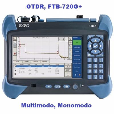 Otdr Certificacion De Fibra Optica Tier-2, M.m / S.m. Exfo