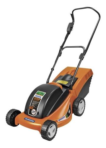 Cortador de grama elétrico Tramontina CE35P com cesto recolhedor 1300W laranja e preto 127V