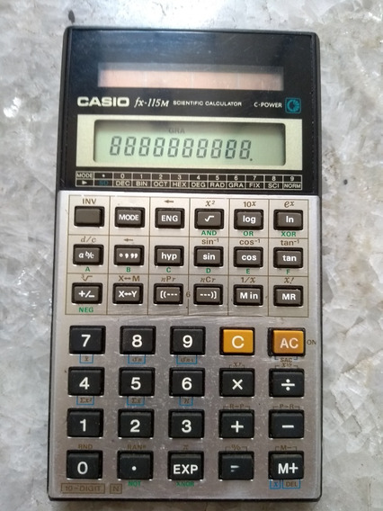 Calculadora Casio Fx-115m