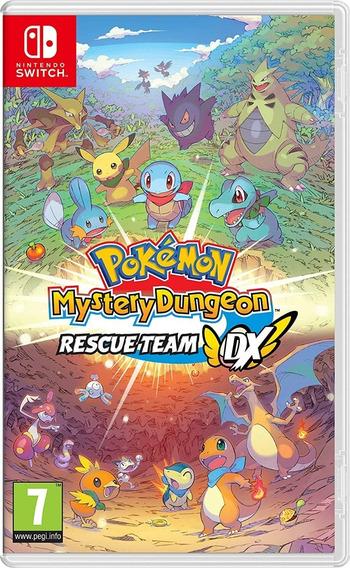 Mídia Física Pokémon Mystery Dungeon: Rescue Team Dx Switch