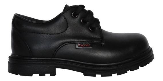 Zapato Ecocuero Colegial Rigazio Acordonado