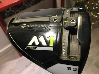 Driver Taylor Made M1 2017- Impecable!. Stiff.