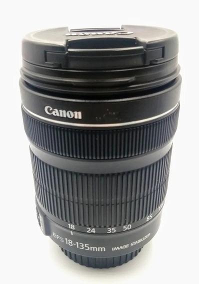 Lente Objetiva Canon 18-135mm Stm