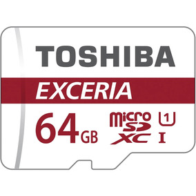 Cartao Memoria Toshiba Micro Sdxc Sd C10 U3 90mb/s 4k 64gb
