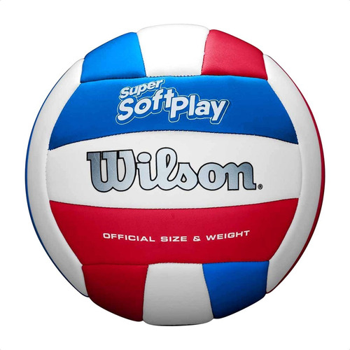 Pelota De Voley Wilson Super Soft Play Tacto Suave