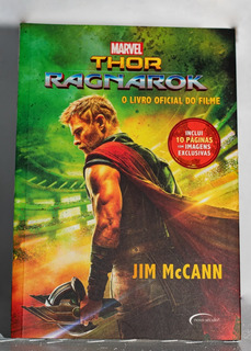 Livro Marvel Thor Ragnarok