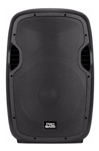 Parlante Pro Bass Elevate 115 portátil con bluetooth negro 110V/220V